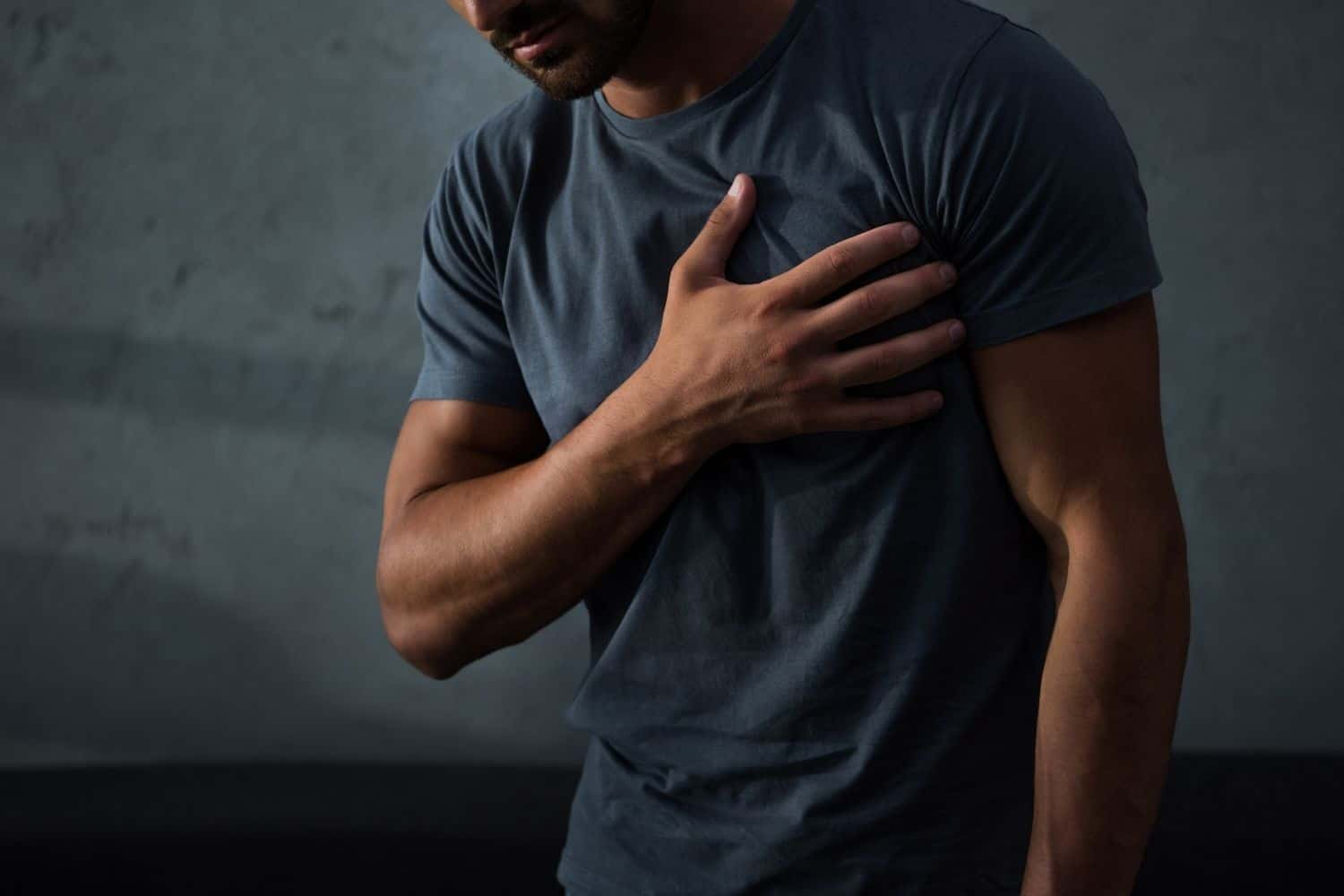 Chest Pain When Drinking Coffee.