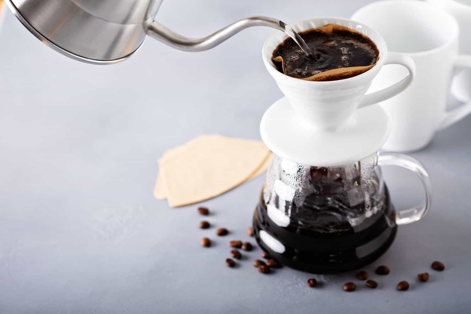 benefits of pour over coffee.