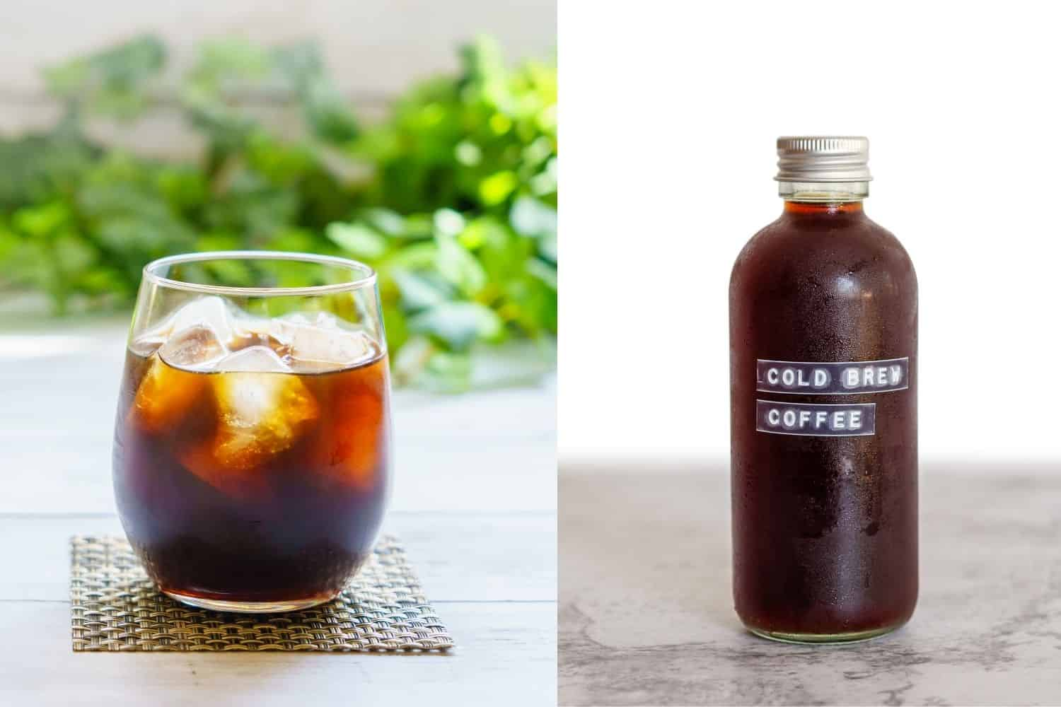cold brew vs iced coffee difference.