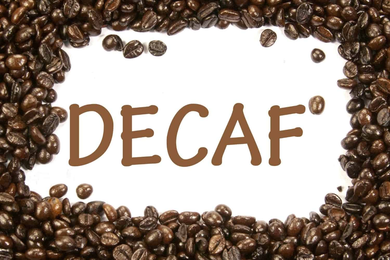 does decaf coffee dehydrate you?